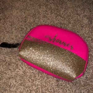 #Shimmer Hot Pink & Gold Make Up Pouch
